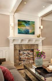 fireplace fake ideas for east coast inspired family home bunch living room decor stone mantel