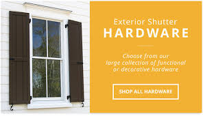 exterior shutters long island. exterior shutter hardware, stainless steel and faux hardware shutters long island