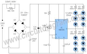 230v led flasher using 555 circuit diagram 230v led flasher using 555 circuit diagram