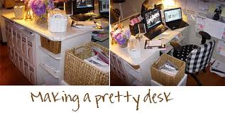 office desk decor ideas. Lovable Office Desk Decor Ideas Furniture Pretty Feminine Girly Decoration Small