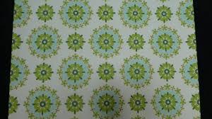 Groen Blauw Bloemen Vintage Behang Funkywalls Dé Webshop Voor