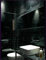 Black Marble Bathroom Creative
