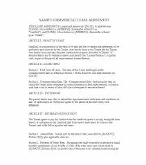 Lease Agreement Template Free Download South Commercial Africa Word ...