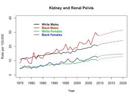 Actual And Projected Cancer Incidence Rates United States