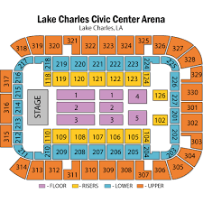Lake Charles Civic Center Arena Seating Chart Disney On Ice Dream Big Lake Charles Tickets Disney On