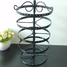 Wrought Iron Ornament Display Stand Adorable Wrought Iron 32 Layer Jewelry Display Stand Holder Rotating Ornaments