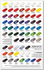 Candy Apple Paint Color Chart The Passion