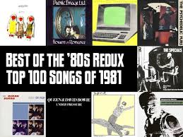 Top 100 Songs Of 1981 Slicing Up Eyeballs Best Of The 80s