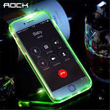 Rock Led Đèn Flash Điện Thoại Ốp Lưng Dành Cho iPhone 7 Plus, ánh Sáng Đèn  Flash Gọi Điện Thông Báo Ống Dòng Ốp Lưng Điện Thoại Iphone 7 7 Plus