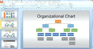 Powerpoint Organizational Chart Template Metabots Co