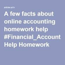 an overview of costaccounting assignment help accounting equation a few facts about online accounting homework help financial accounting help homework