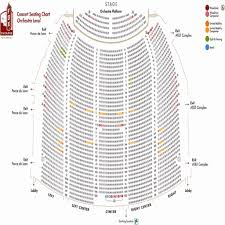 68 Efficient Fox Theatre Atlanta Detailed Seating Chart