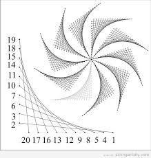 string art free patter windmill Windmill String Art, free pattern