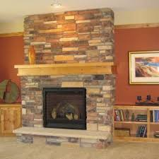Marvelous Stone Gas Fireplace Photo Design Inspiration