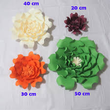 2018 latest giant paper flowers artificial rose diy large paper rose wedding event backdrop baby nursery with tutorials decorations from