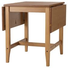 LEKSVIK Drop-leaf table IKEA Table with drop-leaves seats makes it possible  to adjust the table size according to need.