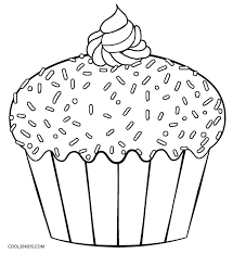 Click the button below to download and print this coloring sheet. Free Printable Cupcake Coloring Pages For Kids