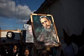 fidel castro rumoured dead com children carry images of fidel castro and che guevara in a tribute to the 56th anniversary