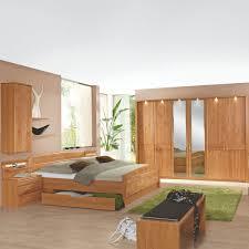 Wiemann Lausanne Schlafzimmer Doppelbett Bettkasten Drehtürenschrank