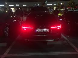 Audi A4 Back Lights Audi A4 All Road With Eurospec Front And Rear Lights Along