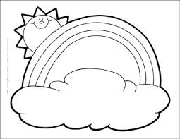 80 Meticulous Sun Rainbow Cloud Behaviour Chart