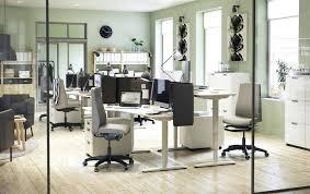 Ikea White Office Furniture Desk Sit Stand Black Brown White A