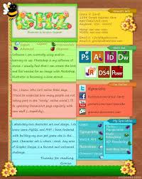 Creative Resume Design 23