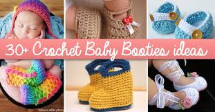 Crochet Booties Pattern Interesting 48 Crochet Baby Booties Ideas For Your Little Prince Or Princess