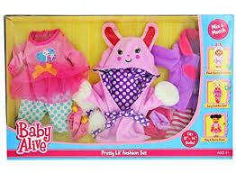 Baby Alive Clothes And Accessories