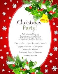 Printable Holiday Party Invitations Christmas Party Cards Free Free Printable Invitations Free Blank
