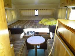 the walls and countertops also would need recovering or replacing in the little motorhome