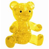 """Купить 3д <b>пазл Crystal Puzzle</b> """"<b>Мишка</b>"""" желтый в интернет ..."""