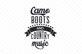 Hey toast, you remember ? Camo Boots And Country Music Svg Cut Files Download Guitar Svg Silhouette