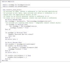 Vba Was Working For A While Then Error 91 Bricscad Forum