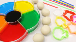 Learn Colors For Children Toddlers Babies Dye Coloring Play Doh