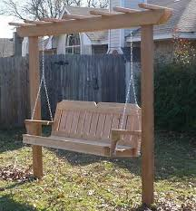 4 ft porch swing stand heavy duty chain