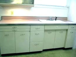 antique kitchen sink cabinet metal and combo unit nk cabinets over where to metal kitchen