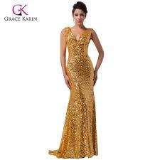 Aliexpress Com Buy Long Evening Dresses Grace Karin Women 2017