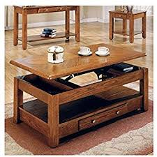 lift top coffee table with storage. LIFT TOP COFFEE TABLE OAK WITH STORAGE DRAWERS AND BOTTOM SHELF - Bring Style And Function Lift Top Coffee Table With Storage Amazon.com