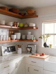 15 ways to diy creative corner shelves rh homedit com open corner shelf cabinet open corner shelves for kitchen