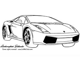 Small Picture Lamborghini Gallardo coloring page Free Printable Coloring Pages