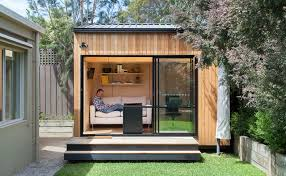 tiny backyard home office. Green Roof-ready Backyard Room Pops Up In Six Short Weeks Tiny Home Office 1