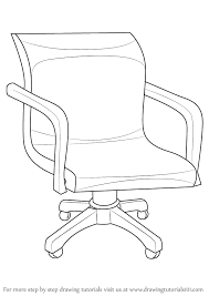 office chair drawing. Interesting Office How To Draw An Office Chair In Drawing DrawingTutorials101com