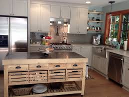 Kitchen Island Open Shelves Williams Sonoma Kitchen Island Gray Cabinets Grey Griegeglass