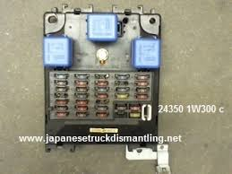 1996 1997 nissan pathfinder fuse relay 97 Nissan Pathfinder Wiring Diagram Nissan 240SX Wiring-Diagram