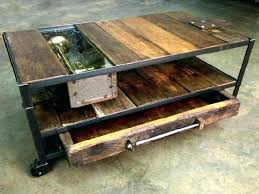 rustic coffee table with wheels rustic wood and metal coffee table rustic wood and metal coffee rustic coffee table with wheels