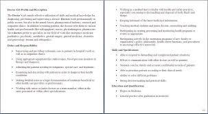 Medical Assistant Job Description For Doctor Health Care Job
