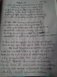 format for descriptive essay grading rubrics