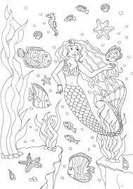 Coloriage Imprimer Gratuit Mandala Sirene L L L L L L L L L