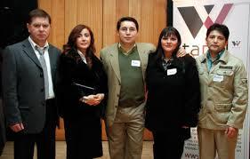 Mauricio Tardones; Elianira Sepúlveda, Mario Contreras, Area Administración; Claudia Castro y Rubén Villa. - SOC-tapel-15